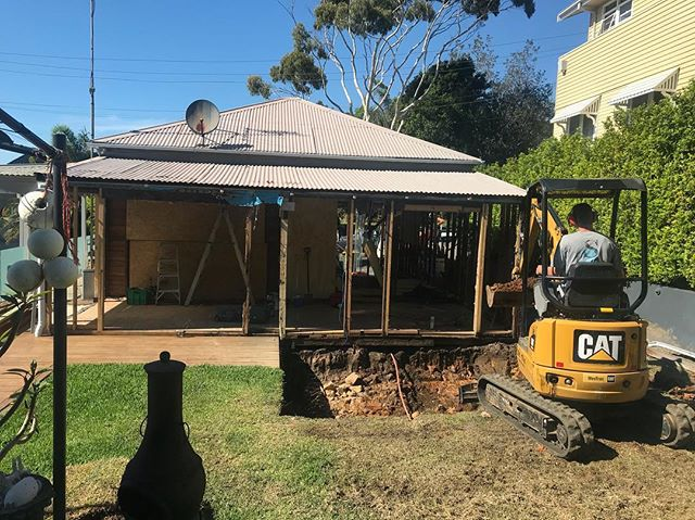Building Excavation in Wollongong by Seaside