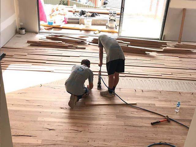 Seadside Building Wollongong New Floors